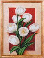 """Набор для вышивания бисером """"Пробуждение Тюльпана"""", 27х38 см, арт. Б367"""