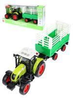 Трактор инерционный, с прицепом, 42 см