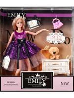 """Кукла """"Эмили. Фиолетовый блеск"""", 28 см"""