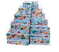 """Набор квадратных коробок 11 в 1 """"Новогодняя атмосфера"""""""