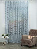Тюль Amore Mio RR H 503-2D, цвет: серый, белый, 300x270 см