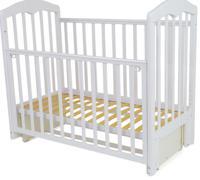 """Кровать детская """"Сильвия 5"""", цвет: белый, 120х60 см"""