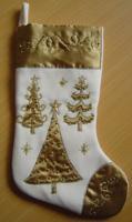 """Новогоднее подвесное украшение """"Носок"""", 48 см, арт. 25260"""