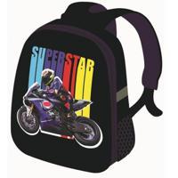 """Рюкзак каркасный """"Moto Superstar"""", 37x31,5x17 см"""