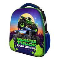 "Рюкзак каркасный ""Monster truck"", 37x31,5x17 см"