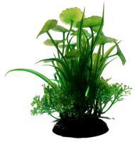 """Пластиковое растение для аквариума """"Homefish"""", с грузом, 10 см"""