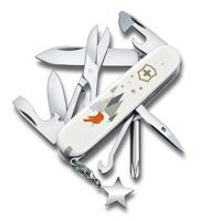 """Нож перочинный """"Victorinox. Super Tinker Winter Magic SE 2019"""", 91 мм, 15 функций, красный"""