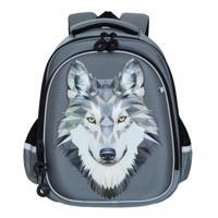 Рюкзак школьный, цвет серый (арт. RAz-087-3/2)