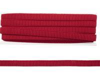 Декортивная резинка для топов, цвет: красный, 10 мм x 10 м