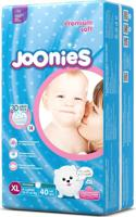 """Подгузники-трусики """"Joonies Premium Soft"""", размер XL (12-17 кг), 40 штук"""