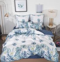"""Комплект постельного белья """"Кьяра"""", цвет: серый, 2-спальный"""