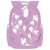 Рюкзак школьный, цвет лаванда (арт. RG-067-2/2)