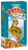 """Корм для водяных черепах Зоомир """"Тортила-М"""", креветки, 50 г"""