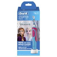 "Электрическая зубная шетка ""Oral-B Kids Stages Power. Холодное Сердце 2. Starter Pack"" (D12.523.1K)"