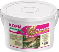 """Универсальный корм для декоративных прудовых и аквариумных рыб Зоомир """"Гран-При"""", плавающие гранулы, 10 л (2,5 кг)"""